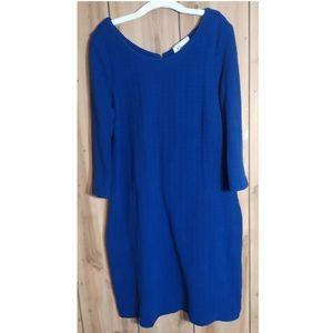GANNI | Gorgeous 3/4 Lgth Sleeve Midi Dress | Lg